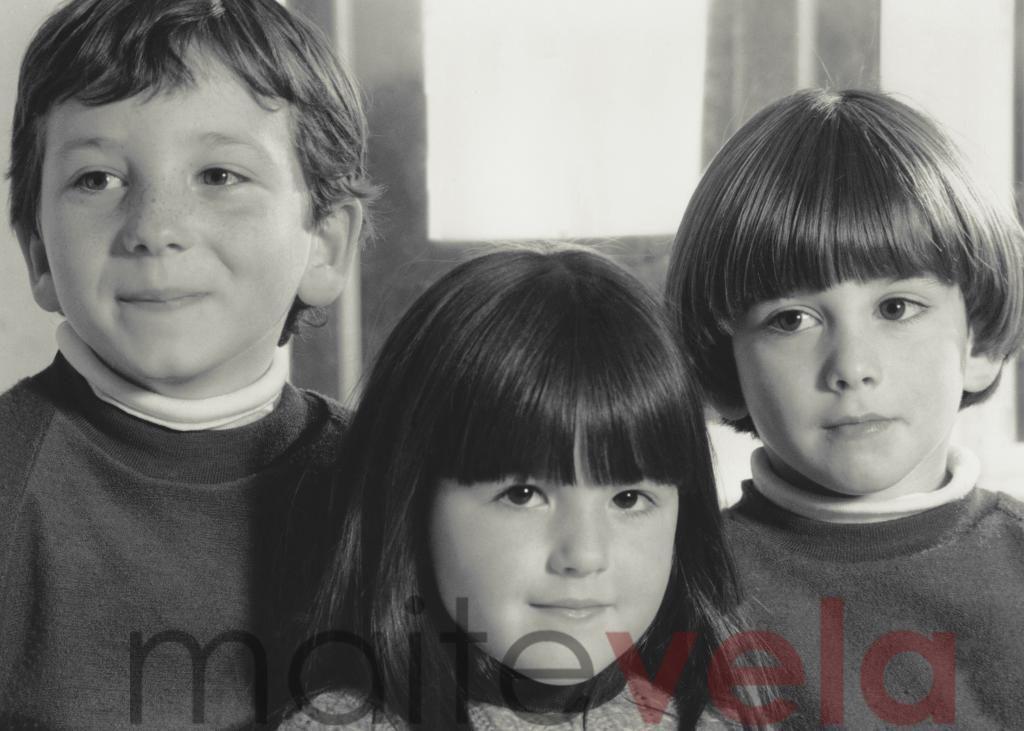Fotografía de los 80 rejuvenecida.